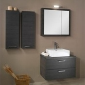Bathroom Vanity Modern Vanity Set with Square Mirror A18 Iotti A18