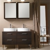 Bathroom Vanity Decorative His and Her Vanity Set A19 Iotti A19