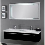 Bathroom Vanity 56 Inch Dual Bathroom Vanity Set FL2 Iotti FL2