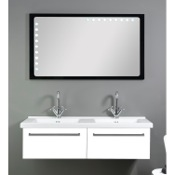 Bathroom Vanity 48 Inch Dual Bathroom Vanity Set FL5 Iotti FL5