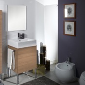 Bathroom Vanity 24 Inch Natural Oak Bathroom Vanity Set Iotti NT10