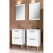 Bathroom Vanity 19 Inch Dual Bathroom Vanity Set L11 Iotti L11