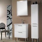 Bathroom Vanity Vanity Set with Medicine Cabinet and Ceramic Sink L12 Iotti L12
