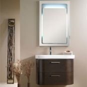 Bathroom Vanity Decorative Vanity Set with Backlight Vertical Mirror NR1 Iotti NR1