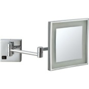 Makeup Mirror Square Wall Mounted LED Makeup Mirror Nameeks AR7701