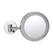 Makeup Mirror Wall Mounted Single Face 3x Makeup Mirror with LED Nameeks AR7704