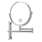 Makeup Mirror Round Wall Mounted Double Face 3x Makeup Mirror Nameeks AR7708