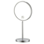 Makeup Mirror Double Sided Free Standing 3x Makeup Mirror Nameeks AR7716