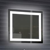 Vanity Mirror 32 x 28 Inch Illuminated Vanity Mirror Nameeks ARR02