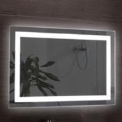 Vanity Mirror 39 x 28 Inch Illuminated Vanity Mirror Nameeks ARR03