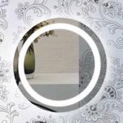 Vanity Mirror 24 Inch Illuminated Circular Vanity Mirror Nameeks ARRD
