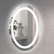 Vanity Mirror 20 x 28 Inch Illuminated Oval Vanity Mirror Nameeks ARROV