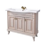 Bathroom Vanity 39 Inch Wall Mounted Vanilla Vanity Cabinet With Fitted Sink BT-F01 Nameeks BT-F01
