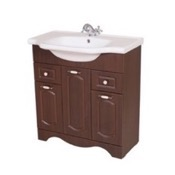 Bathroom Vanity 31 Inch Floor Standing Walnut Vanity Cabinet With Fitted Sink CLA-F05 Nameeks CLA-F05