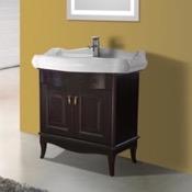 Bathroom Vanity 31 Inch Floor Standing Calvados Vanity Cabinet With Fitted Sink Nameeks MI-F03