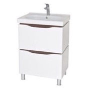 Bathroom Vanity 24 Inch Wall Mounted White Vanity Cabinet With Fitted Sink VN-F01 Nameeks VN-F01