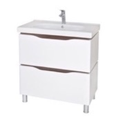 Bathroom Vanity 31 Inch Wall Mounted White Vanity Cabinet With Fitted Sink VN-F02 Nameeks VN-F02