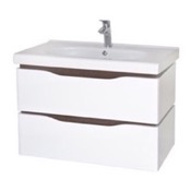 Bathroom Vanity 31 Inch Wall Mounted White Vanity Cabinet With Fitted Sink VN-W02 Nameeks VN-W02