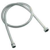 Shower Hose Chrome PVC 59 Inch Flexible Shower Hose Remer 332CNBC150