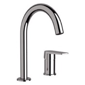 Bathroom Faucet Chrome Two Hole Bathroom Sink Faucet Remer D57