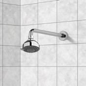 Shower Head Chrome Showerhead With 3 Settings and 8 Inch Stainless Steel Shower Arm Gedy SUP1120