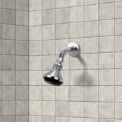 Shower Head Shower Head with Shower Arm in Chromed Brass Remer 342-352