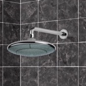 Shower Head Rain Shower Head with Shower Arm in Chrome Remer 343-30-354DV