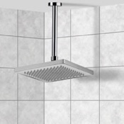 Shower Head Polished Chrome Ceiling Mounted Shower Head Remer 347N-359SS