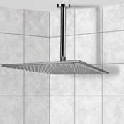Shower Head Ceiling Mounted Shower Head in Polished Chrome Remer 347N-359SSXL
