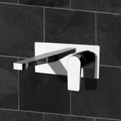 Bathroom Faucets Wall Mounted Bathroom Faucet in Multiple Finishes Remer D15
