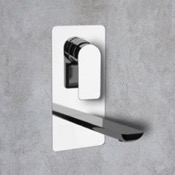 Bathroom Faucets Chrome Wall Mounted Bathroom Faucet Remer I14