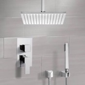 Shower Faucet Shower System with Ceiling 12