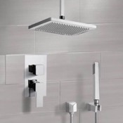 Shower Faucet Shower System with Ceiling 9.5