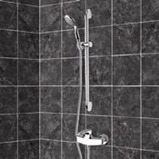 Shower Faucet Chrome Slidebar Shower Set With Multi Function Hand Shower Remer SR027