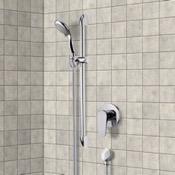 Shower Faucet Chrome Slidebar Shower Set With Multi Function Hand Shower Remer SR048