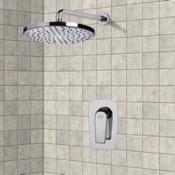 Shower Faucet Chrome Shower Faucet Set with 8