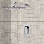 Shower Faucet Chrome Shower Faucet Set with 14