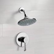 Shower Faucet Chrome Shower Faucet Set with 6