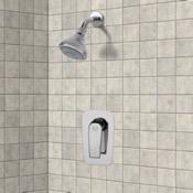Shower Faucet Chrome Shower Faucet Set with 3