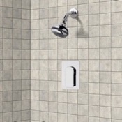 Shower Faucet Chrome Shower Faucet Set with Multi Function Shower Head Remer SS1080