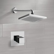 Shower Faucet Thermostatic Shower Faucet Set with 8