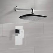 Shower Faucet Chrome Shower Faucet Set with 10