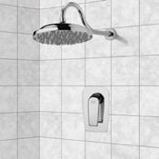 Shower Faucet Chrome Shower Faucet Set with 9