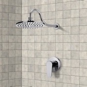 Shower Faucet Chrome Shower Faucet Set with 10