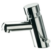 Bathroom Faucet Brass Temporized Mixer Pillar Tap with Chrome Finish Remer TE18MUS
