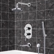 Tub and Shower Faucet Tub and Shower System with 6