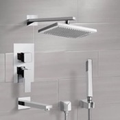 Tub and Shower Faucet Tub and Shower System with 9.5