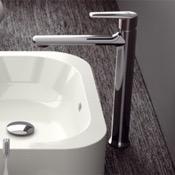 Bathroom Faucet Chrome Round Vessel Sink Faucet Remer V11L