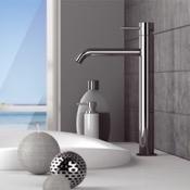 Bathroom Faucet Chrome Round Vessel Sink Faucet Remer X11LXL