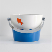 Bathroom Sink Bucket Bathroom Sink with Fish design Scarabeo 8801-R